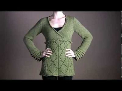 #9 Greenland Sweater, Vogue Knitting Fall 2008