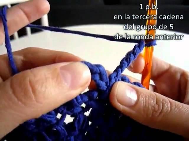 Bolso en Crochet tipo Market Bag - Recicla tu ropa