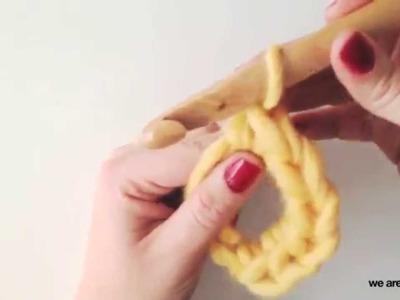 Cómo hacer el círculo mágico en crochet - Aprender crochet