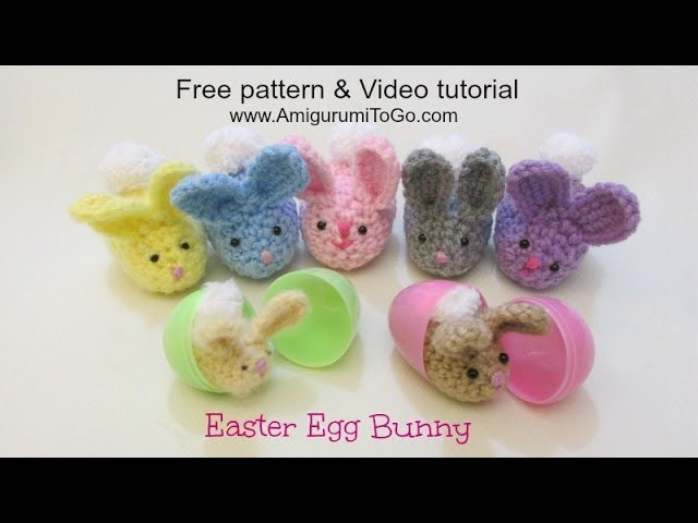 Crochet Along Easter Egg Bunny