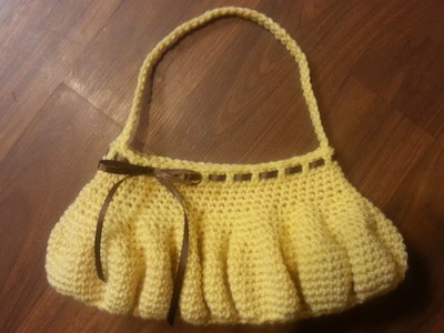 CROCHET BAG - CROCHET HANDBAG DIY CROCHET PURSE EASY BEGINNER CROCHET TUTORIAL