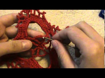 Crochet beautiful Christmas tree decoration