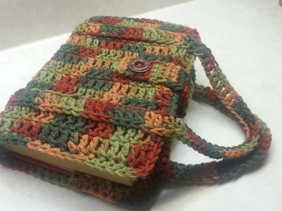 #Crochet Book Bag. Bible.Book Carrier  #TUTORIAL