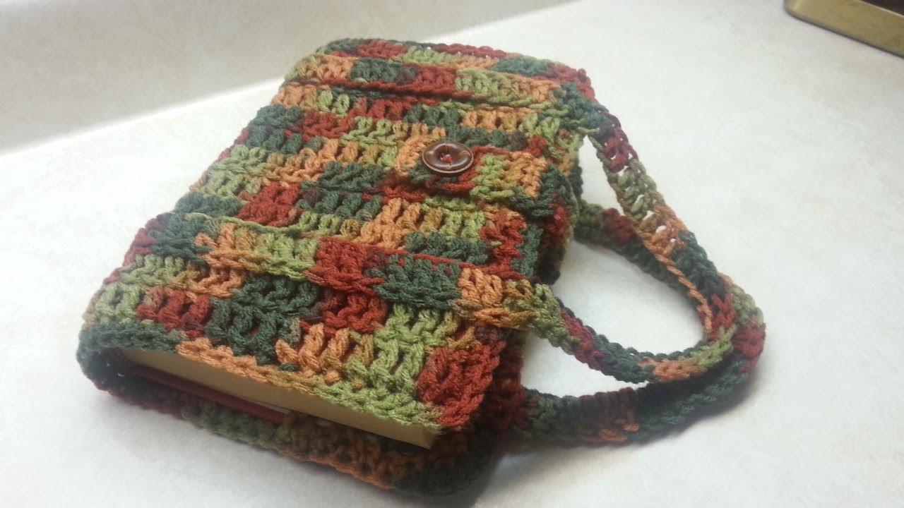 #Crochet Book Bag. Bible.Book Carrier  #TUTORIAL