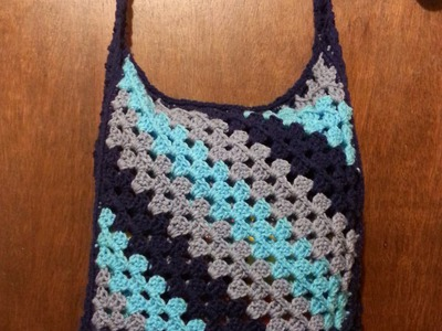 #Crochet #bookbag messenger bag #TUTORIAL #Purse #handbag #satchel