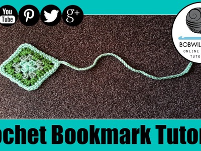 Crochet Bookmark 'Whip it Up Wednesday' Tutorial