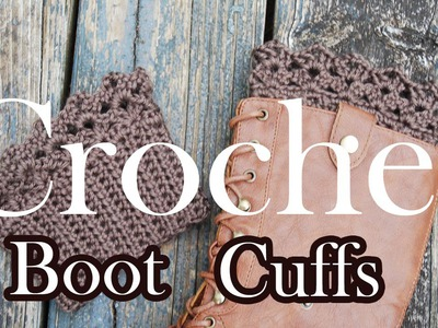 Crochet Boot Topper Tutorial