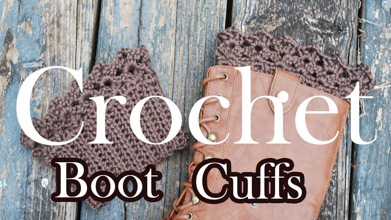 Crochet Boot Topper Tutorial
