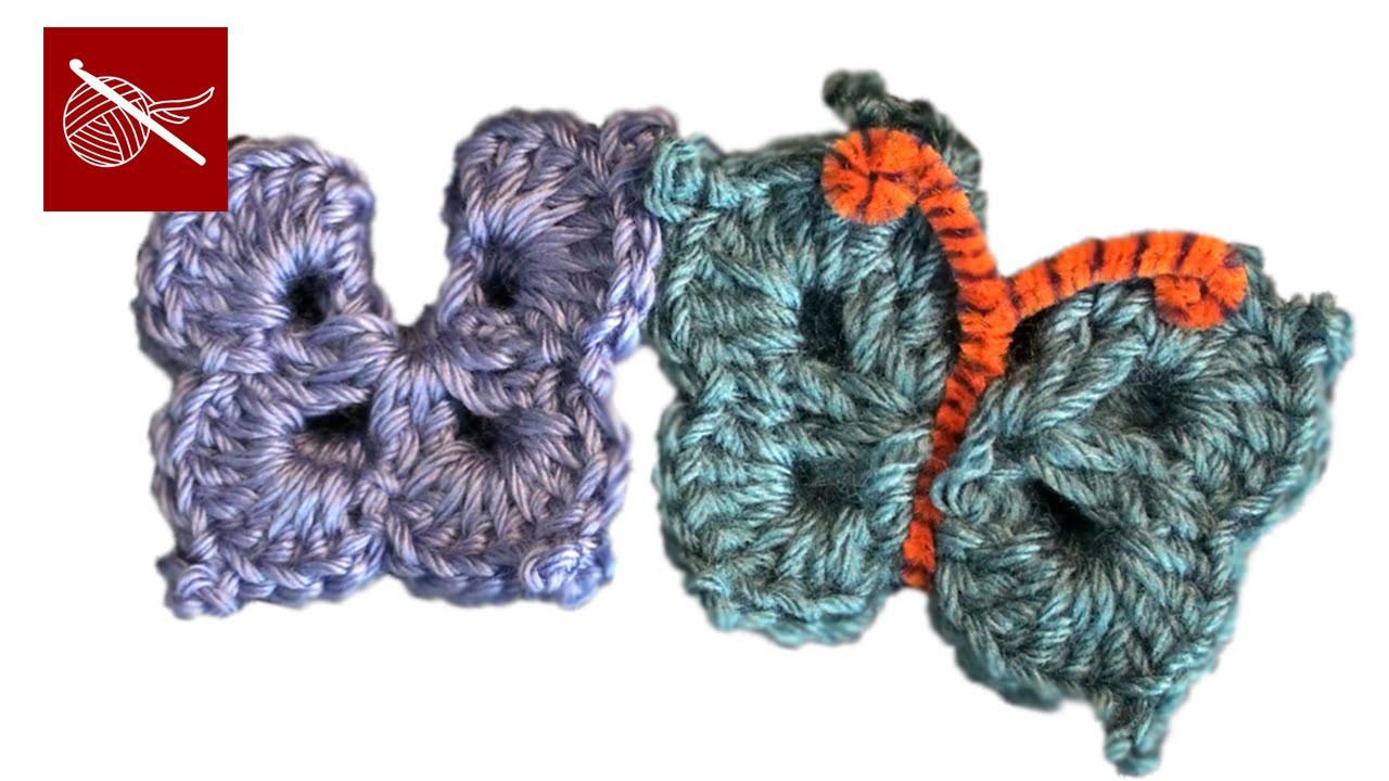 Crochet Butterfly Sadie Crochet Geek
