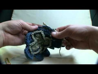 Crochet Catherine Wheel Square - 4