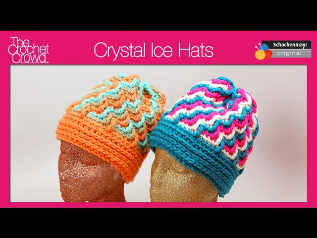 Crochet Crystal Ice Hats Tutorial