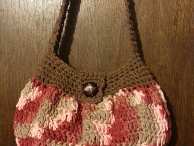 #Crochet handbag purse easy TUTORIAL DIY purse Purse Ideas DIY handbag
