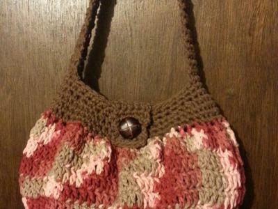 #Crochet handbag purse easy TUTORIAL DIY purse Purse Ideas DIY handbag