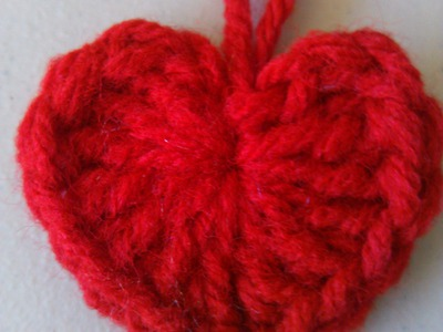 Crochet heart style 1