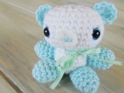 (Crochet) How To - Crochet Amigurumi Baby Shower Bears