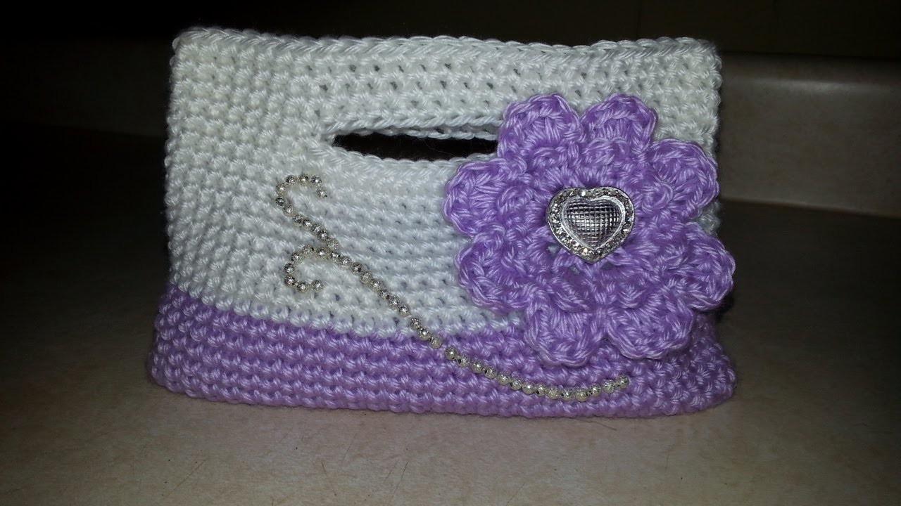 #Crochet Little Girls Handbag Purse #TUTORIAL