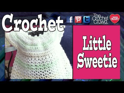 Crochet Little Sweetie Dress Tutorial