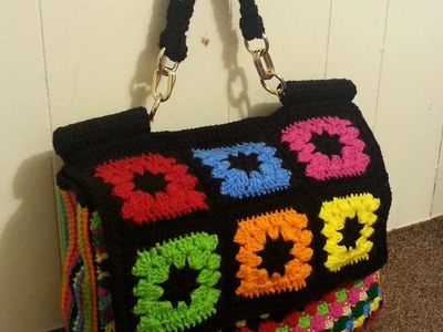 #Crochet Look A Like Dolce & Gabbana Designer Handbag  #TUTORIAL How to crochet