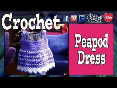 Crochet Peapod Baby Sundress Tutorial
