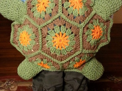 #Crochet Turtle Backpack #TUTORIAL crochet animals DIY backpack Fun crochet
