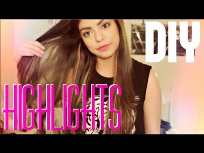 DIY Easy Highlights || jessfashion101