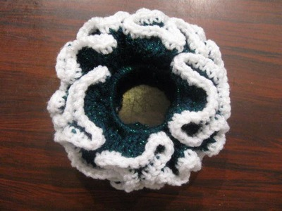 Double Crochet Scrunchie - Crochet Tutorial
