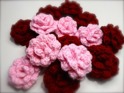 Easy Crochet Rose Tutorial (Better Quality)