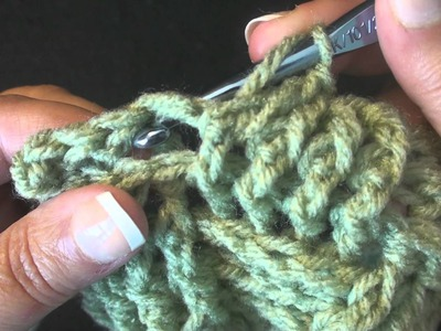 Front Post and Back Post Double Crochet Stitches