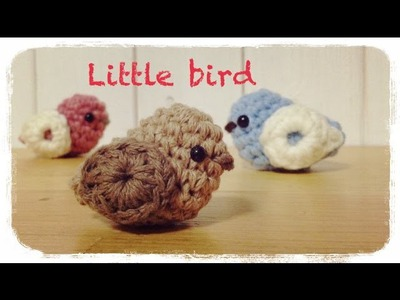 How to crochet a little bird 小鳥の編み方 by meetang