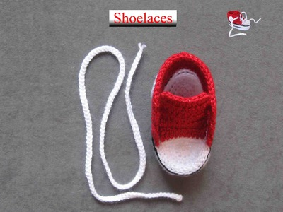 How to crochet a nice shoelaces