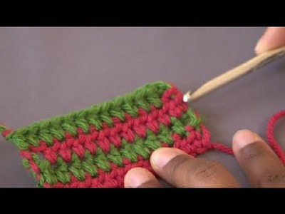 How to Crochet Stripes : Crochet Tutorials