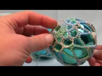 How To Crochet Thread Christmas Balls