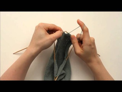 How to Knit a Sock: Heel Turn (2 of 3)