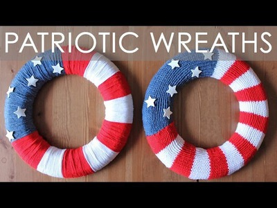 How to Knit a Wreath | 4th of July Playlist