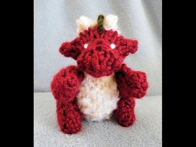 How to Loom Knit a Mini Dragon