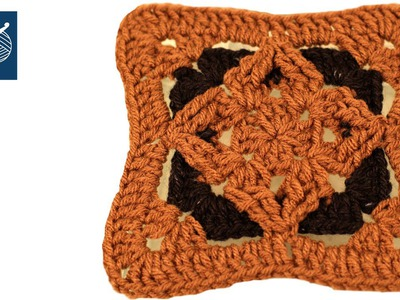 How to make a Crochet Diamond Granny Square Crochet Geek