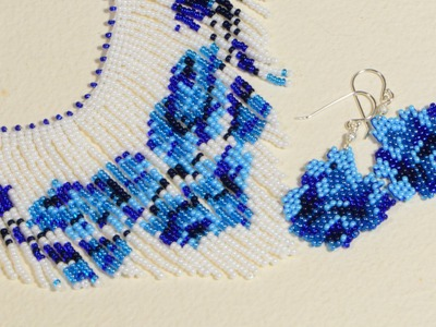 How to make Earrings, Beading Patterns