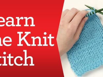 Knitting Basics: Learn the Knit Stitch