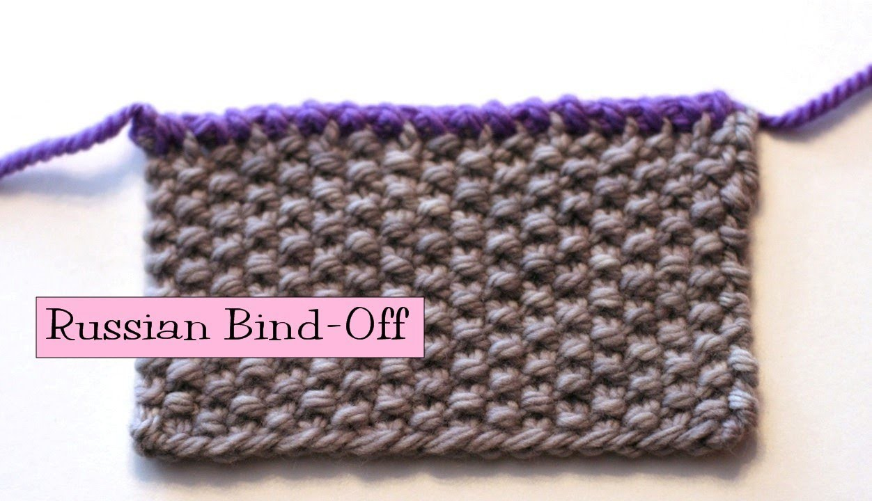Knitting Help - Russian Bind-Off