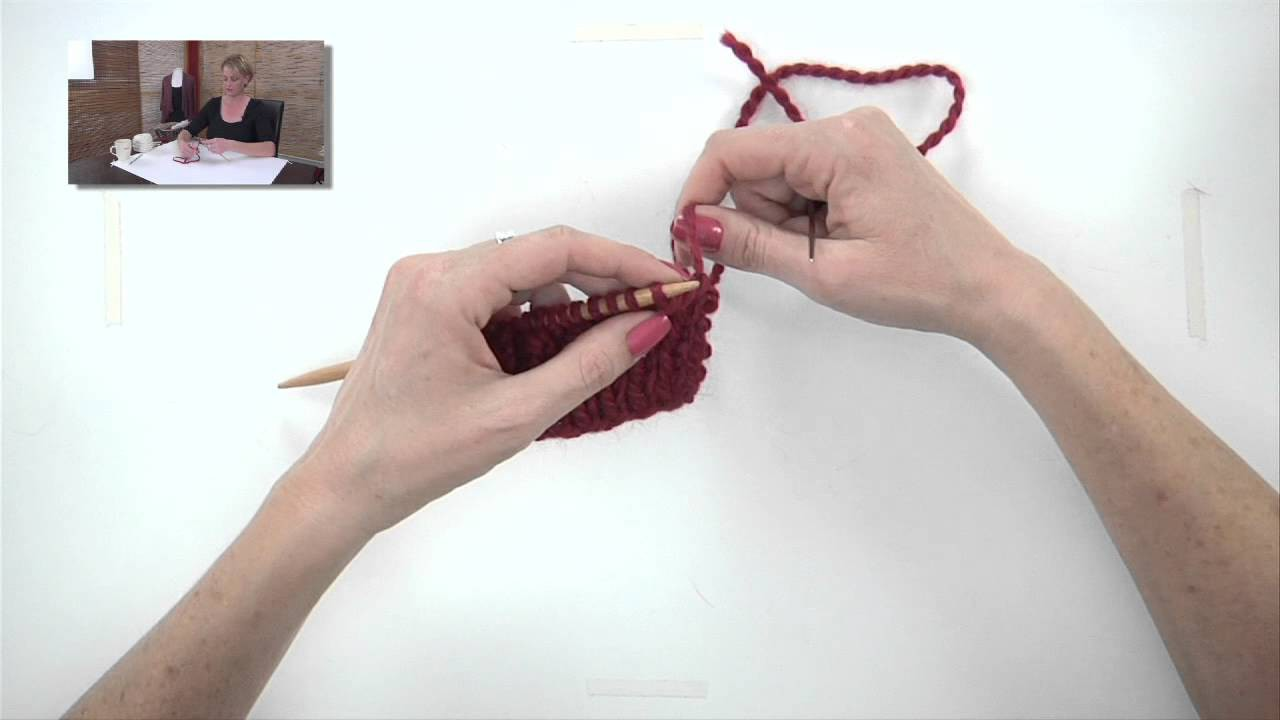 Knitting Help - Tubular Bind-Off
