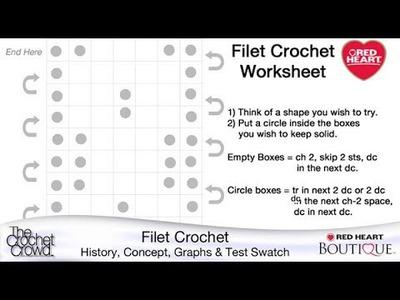 Learn to Filet Crochet