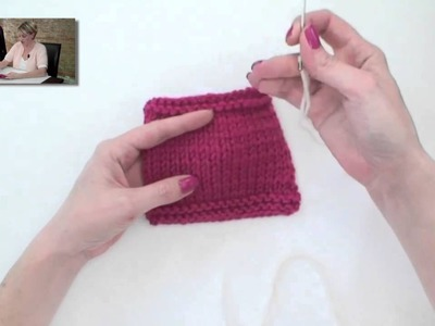 Learn to Knit a Christmas Stocking - Part 7