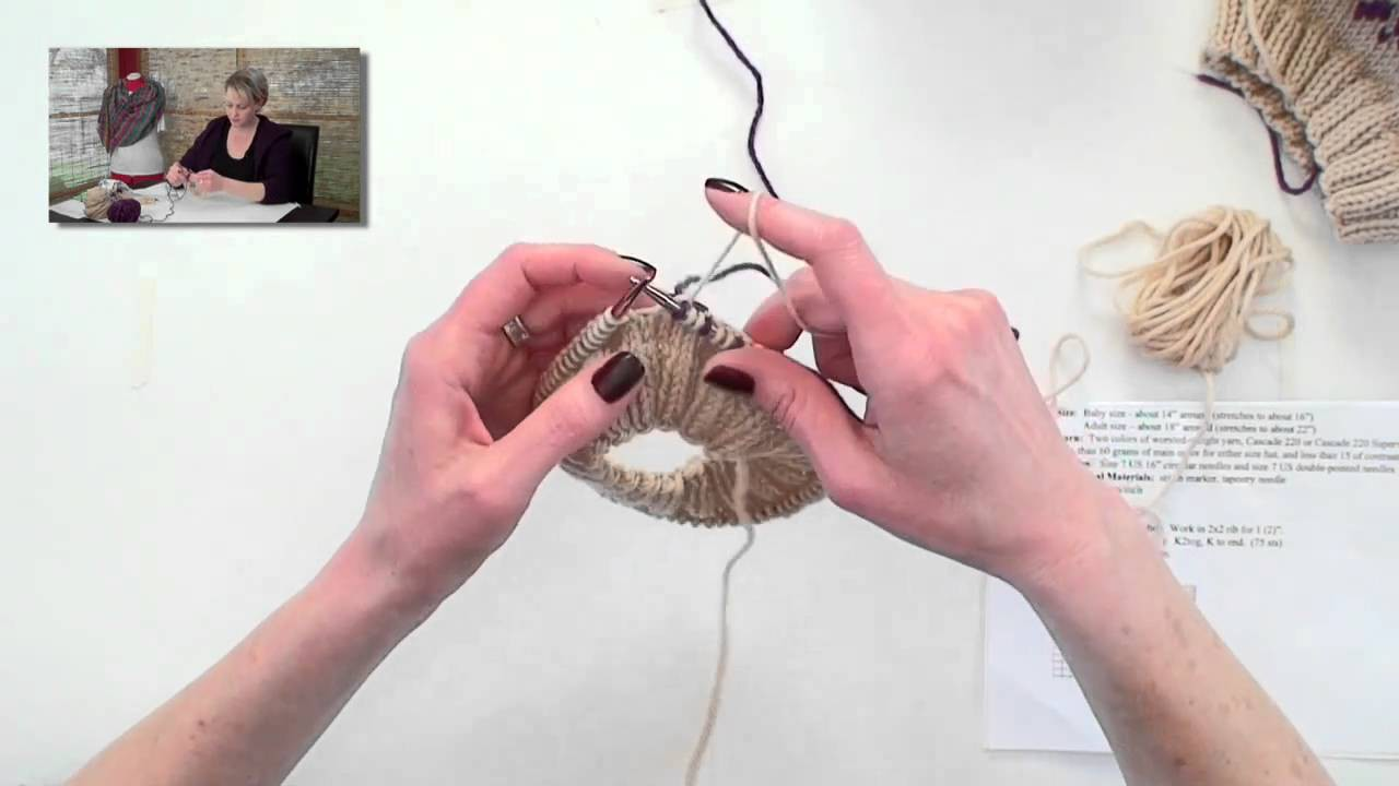 Learn to Knit Fair Isle - Part 2