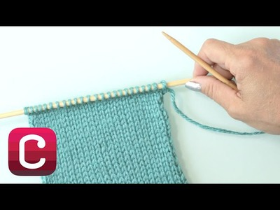 Learn to Knit Stockinette Stitch