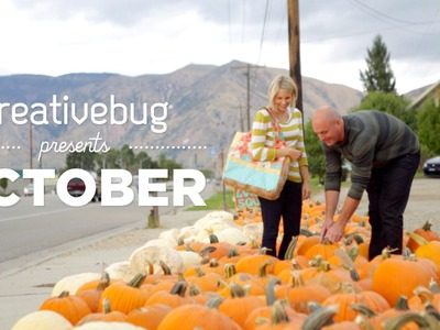 October Classes on Creativebug: Knitting, Quilting, Sewing, Halloween and More