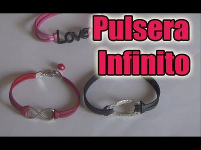 Pulsera Infinito- Bisuteria en español-DIY