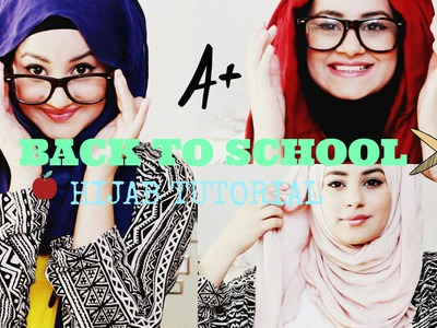 Quick and Simple Hijab Tutorial ♡ Back To School! | Hijab Hills