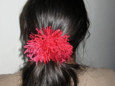 Shaggy Scrunchie Tutorial - Crochet Tutorial