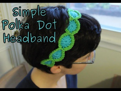 Simple Crochet Headband Tutorial
