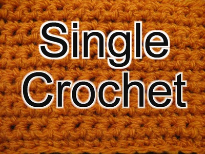 Single Crochet - Slow Motion